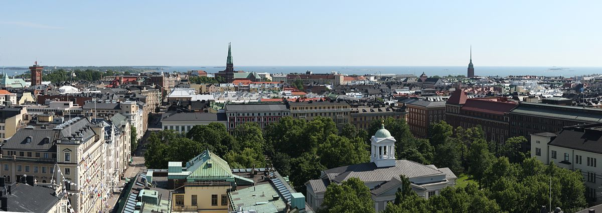 Helsingin monenkirjava historia